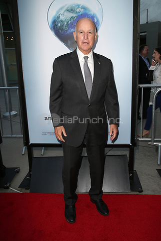 "HOLLYWOOD, CA - JULY 25: Governor Jerry Brown, At Screening Of Paramount Pictures' ""An Inconvenient Sequel: Truth To Power"" At ArcLight Hollywood In California on July 25, 2017. Credit: FS/MediaPunch"