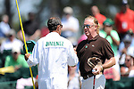 Miguel- Angel Jimenez during the third round of the 2014 Masters held in Augusta, GA at Augusta National Golf Club on Saturday, April 12, 2014.