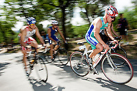 30 MAY 2009 - MADRID,ESP - Guillermo Quintana Garcia - Spanish Triathlon Championships (PHOTO (C) NIGEL FARROW)