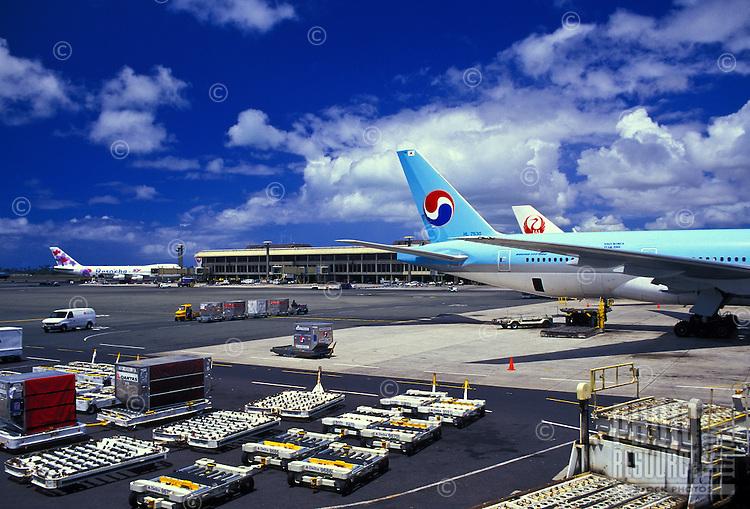 Honolulu International airport, Oahu