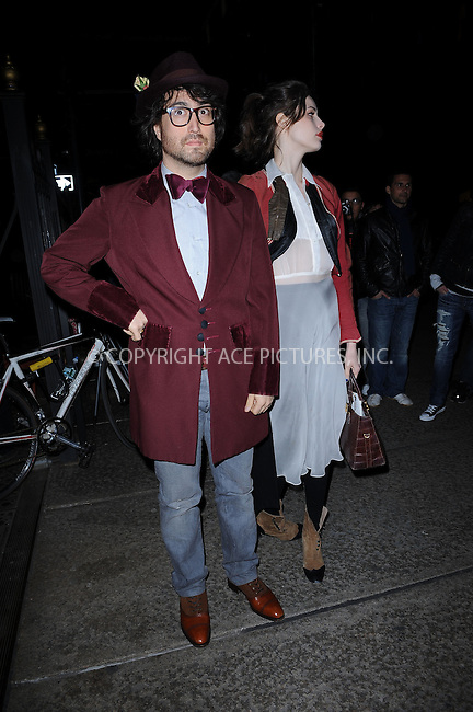 WWW.ACEPIXS.COM . . . . . ....April 28 2010, New York City....Sean Lennon and Charolotte Kemp Muhl arriving at the 2nd Annual Bent on Learning Benefit at The Puck Building on April 28, 2010 in New York City.....Please byline: KRISTIN CALLAHAN - ACEPIXS.COM.. . . . . . ..Ace Pictures, Inc:  ..(212) 243-8787 or (646) 679 0430..e-mail: picturedesk@acepixs.com..web: http://www.acepixs.com