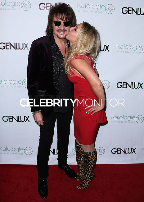 BEVERLY HILLS, CA, USA - JULY 24: Richie Sambora, Nikki Lund at the Genlux Magazine Summer July 2014 Issue Release Party held at the Luxe Hotel on July 24, 2014 in Beverly Hills, California, United States. (Photo by Xavier Collin/Celebrity Monitor)