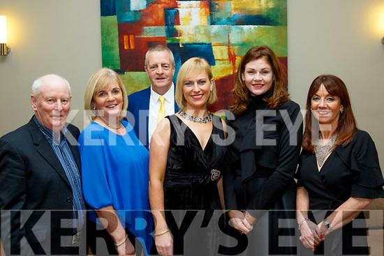 L-R Joe&Siobhan O'Connor, Ed Hoare, Maria lyne, Breda casey and Margaret hoare at the Castlegregory GAA social