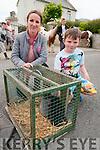 Ballyduff Horse Fair: Claire Bradley< Kilflynn & Rickey O'Brien, Ballyduff  attending the Ballyduff Horse fair  on Sunday last.