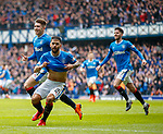 11.3.2018: Rangers v Celtic:<br /> Daniel Candeias celebrates his goal