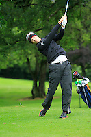 Declan Loftus (Castlebar) on the 3rd tee during round 1 of The Mullingar Scratch Cup in Mullingar Golf Club on Sunday 3rd August 2014.<br /> Picture:  Thos Caffrey / www.golffile.ie