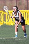 Santa Barbara, CA 02/18/12 - Emily DeSimone  (Cal Poly SLO #16) in action during the 2012 Santa Barbara Shootout.  Colorado defeated Cal Poly SLO 8-7.