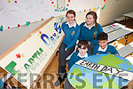 Celebrating Earth Day in Mercy Mounthawk Secondary School on Friday front l-r were: Cormaac O'Riordan and Fionn de Quadros. Back l-r were: Erin O'Halloran and Melissa Dennehy.