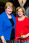 Mary Sommers and Sheila Hannon at the John Mitchels GAA 'Strictly Come Dancing' at Ballygarry House Hotel on Sunday night.