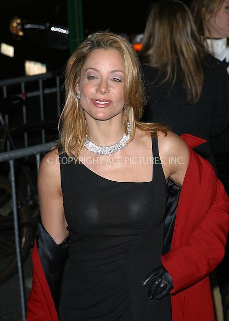 "DENISE FAYE arrives at the special screening of ""Chicago."" New York, December 18, 2002. Please byline: NY Photo Press. REF: M19 -- THIS REFERENCE CODE MUST APPEAR ON YOUR SALES REPORT, THANK YOU.....*PAY-PER-USE*      ....NY Photo Press:  ..phone (646) 267-6913;   ..e-mail: info@nyphotopress.com"