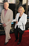 HOLLYWOOD, CA - JUNE 20: Eva Marie Saint and Jeffrey Hayden arrive at the Los Angeles premiere of HBO's 'The Newsroom' at ArcLight Cinemas Cinerama Dome on June 20, 2012 in Hollywood, California.