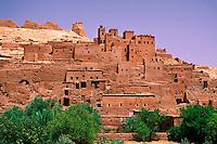 Kasbahs, Ait-Benhaddou (near Ouarzazate), Morocco