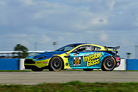 IMSA Continental Tire SportsCar Challenge<br /> Sebring February Test<br /> Sebring International Raceway, Sebring, Florida, USA<br /> Wednesday 21 February 2018<br /> #09 Automatic Racing, Aston Martin Vantage, GS: Ramin Abdolvahabi, Steven Phillips<br /> World Copyright: Richard Dole<br /> LAT Images