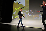 Steven Kruijswijk (NED) introduced on stage at the Tour de France 2020 route presentation held in the Palais des Congrès de Paris (Porte Maillot), Paris, France. 15th October 2019.<br /> Picture: Eoin Clarke | Cyclefile<br /> <br /> All photos usage must carry mandatory copyright credit (© Cyclefile | Eoin Clarke)