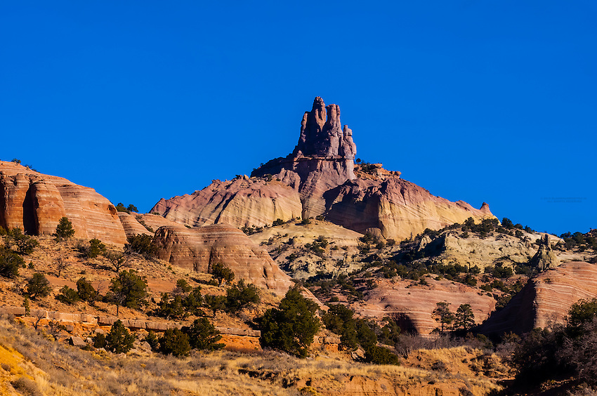 Church Rock, Red Rock State Park, Gallup, New Mexico USA.