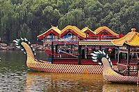Dragon boat at the Summer Palace, Beijing, China