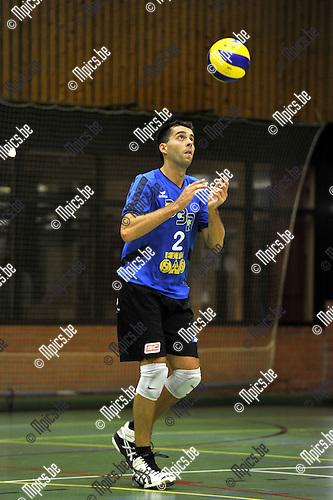 2010-08-26 / Volleybal / seizoen 2010-2011 / VC Vosselaar / Tom Lemmens..Foto: Mpics