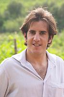 Gael Guibert de la Vaissiere son of Aime Guibert Domaine du Mas de Daumas Gassac. in Aniane. Languedoc. Owner winemaker. France. Europe.