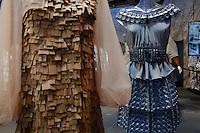 Tiziano Guardini e Alessandro Consiglio<br /> Roma 03-04-2016 Terme di Diocleziano. Mostra 'In Acqua: H2O molecole di creativita'. Decine di stilisti hanno creato, per l'occasione, abiti, accessori e gioielli che richiamano l'acqua.<br /> Diocleziano Thermae. Exhibition 'In water: H2O molecules of creativity'.Tens of famous stylists created dresses, accessories and jewels that recall water.<br /> Photo Samantha Zucchi Insidefoto