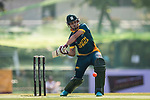 Aubrey Swanepoel of South Africa hits a shot during Day 1 of Hong Kong Cricket World Sixes 2017 Group A match between South Africa vs Pakistan at Kowloon Cricket Club on 28 October 2017, in Hong Kong, China. Photo by Yu Chun Christopher Wong / Power Sport Images
