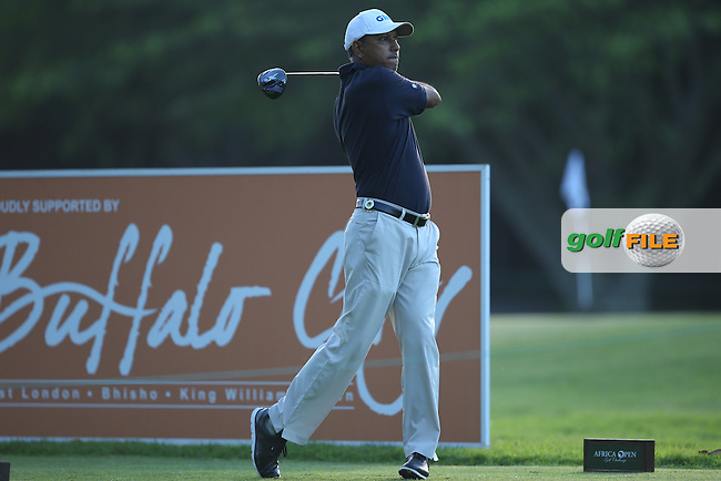 Jeev Milkha Singh (IND) drives down the 11th during Round One of the Africa Open 2015 at the East London Golf Club, East London, Eastern Cape, South Africa. Picture:  David Lloyd / www.golffile.ie. 05/03/2015