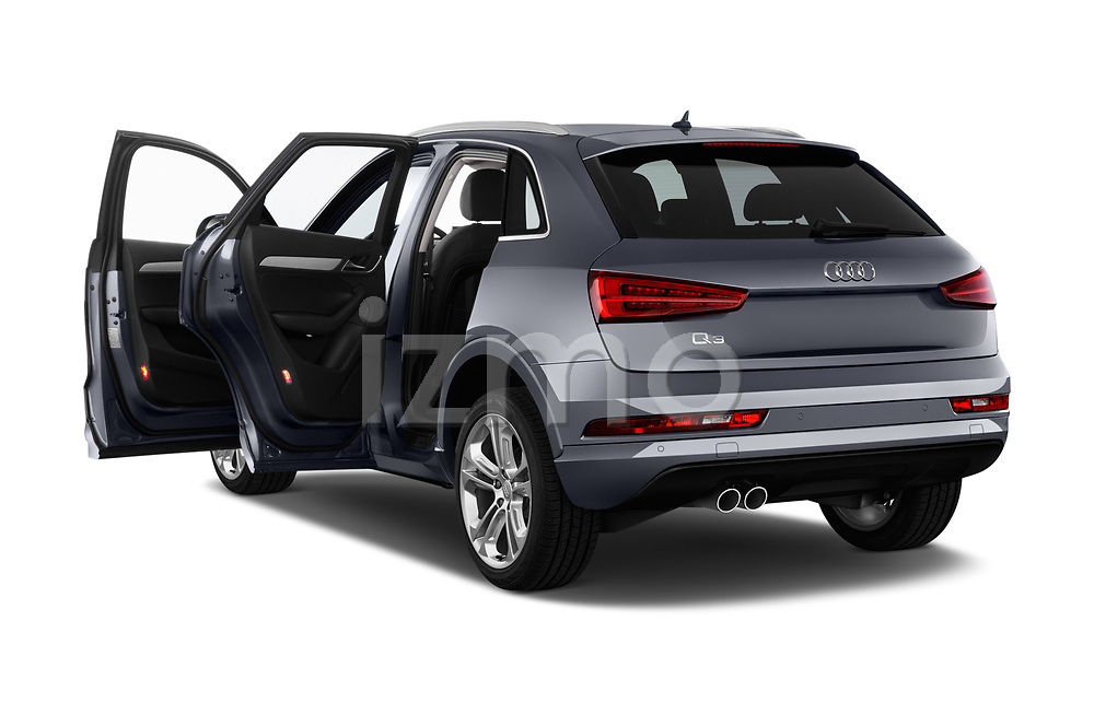 Car images close up view of 2016 Audi Q3  2.0T-FWD-tiptronic-Premium-Plus  5 Door SUV doors
