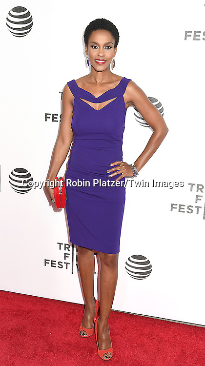 Kim Hawthorne attends the &quot;Greenleaf&quot; world premiere at The Tribeca Film Festival on April 20, 2016 at the John Zuccotti Theater @ BMCC Tribeca Performing Arts Center in New York, New York, USA. The new original drama Series is from the OWN Network.<br /> <br /> photo by Robin Platzer/Twin Images<br />  <br /> phone number 212-935-0770
