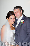 Dee O'Brien, Cork daughter of Jim and Sheila (nee Cronin, Aghadoe, Killarney), and Ciaran Daly, Clare, son of Pat and Tikki, who were married in the Prince of Peace church, fossa on Friday, Fr Damian Nolan officiated at the ceremony, best man was Niall Daly the grooms brother, groomsmen were Johnn Griffin and Brian Lynch, bridesmaids were Claire Lawton, Siobhain O'Brien and Alice Biggane, the reception was held in the Killarney Heights Hotel