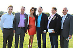 Ronan Linehan, Beamish, Mac Sammon, Beamish, Georgia Salpa, Alan Delany and Patrick Kierans at the Bellewstown Races 2011...(Photo credit should read Jenny Matthews www.newsfile.ie)....This Picture has been sent you under the conditions enclosed by:.Newsfile Ltd..The Studio,.Millmount Abbey,.Drogheda,.Co Meath..Ireland..Tel: +353(0)41-9871240.Fax: +353(0)41-9871260.GSM: +353(0)86-2500958.email: pictures@newsfile.ie.www.newsfile.ie.
