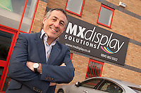 Nick Pancisi of MX Graphics, based in Derby