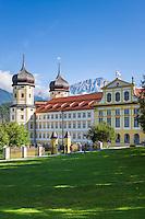 Austria, Tyrol, Stams in Tyrolean Upper Inn Valley: Cistercian Abbey Stams   Oesterreich, Tirol, Stams im Tiroler Oberinntal: Stift Stams