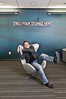 Portraits of Biz Stone - Twitter - 2010