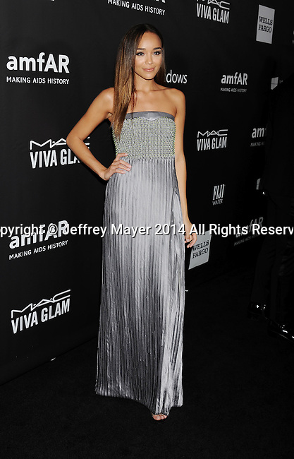 HOLLYWOOD, CA- OCTOBER 29: Actress Ashley Madekwe attends amfAR LA Inspiration Gala honoring Tom Ford at Milk Studios on October 29, 2014 in Hollywood, California.