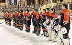 06.01.2020, BLZ Arena, Füssen / Fuessen, GER, IIHF Ice Hockey U18 Women's World Championship DIV I Group A, <br /> Japan (JPN) vs Daenemark (DEN), <br /> im Bild Team Japan verabschiedet sich von den Zuschauer<br /> <br /> Foto © nordphoto / Hafner