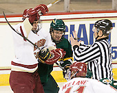 Chris Kreider (BC - 19), Anders Franzon (Vermont - 27) - The Boston College Eagles defeated the visiting University of Vermont Catamounts 6-0 on Sunday, November 28, 2010, at Conte Forum in Chestnut Hill, Massachusetts.
