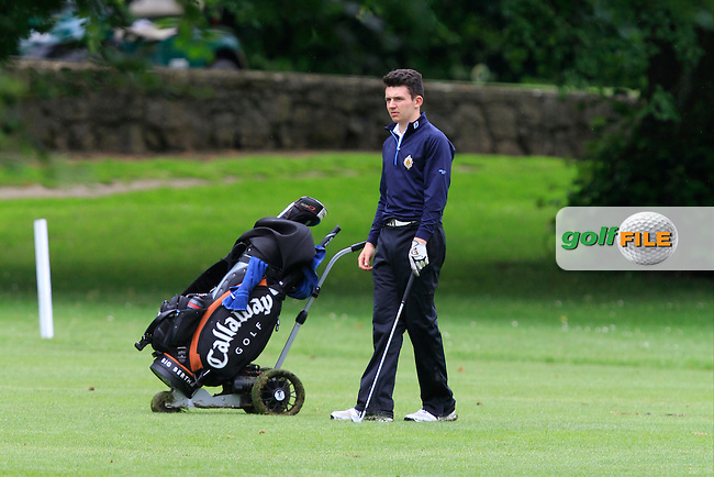 Paul Margolis (FRA) on the 18th during Round 3 of the Irish Boys Amateur Open Championship at Thurles Golf Club on Thursday 26th June 2014.<br /> Picture:  Thos Caffrey / www.golffile.ie