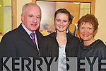 Pictured at the Kerry senior team medal presentation in the Gleneagle on Friday night were Dan, Michelle and Eileen Reidy, Scartaglen.