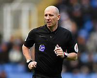 Referee Andy Davies during Reading vs Hull City, Sky Bet EFL Championship Football at the Madejski Stadium on 8th February 2020