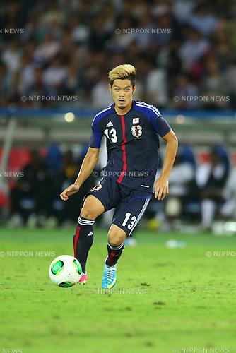 Hotaru Yamaguchi (JPN),<br /> SEPTEMBER 10, 2013 - Football / Soccer :<br /> Kirin Challenge Cup 2013 match between Japan 3-1 Ghana at Nissan Stadium in Kanagawa, Japan. (Photo by Kenzaburo Matsuoka/AFLO)