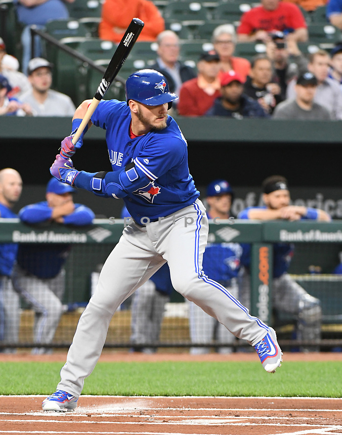 Toronto Blue Jays Josh Donaldson (20) during a game against the Baltimore Orioles on April 5, 2017 at Oriole Park at Camden Yards in Baltimore, MD. The Orioles beat the Blue Jays 3-1.