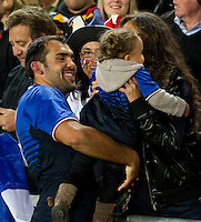 Rugby World Cup Auckland  England v France  Quarter Final 2 - 08/10/2011.  (England)    (France).Photo Frey Fotosports International/AMN Images