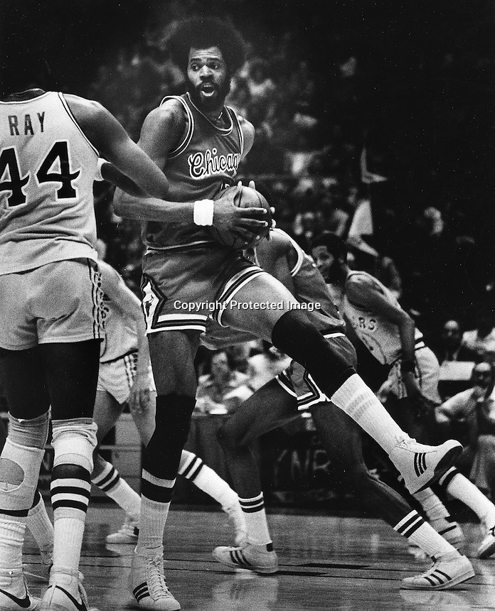 Chicago Bulls Norm Van Lier.<br />