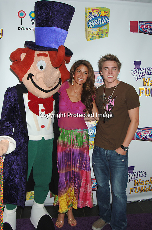 Willy Wonka, Dylan Lauren and Jesse McCartney..at The Willy Wonka Funday at Dylan's Candy Bar on ..June 14, 2006.  Jesse McCartney joined Willy Wonka ..and The Oompa Loompas to unveil Wonka's new SweeTARTS Squeez and Sour Nerds to the public...Robin Platzer, Twin Images
