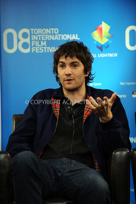 WWW.ACEPIXS.COM . . . . .....September 10, 2008. Toronto, Canada....Actor Jim Sturgess attends the 'Fifty Dead Men Walking' Press Conference during the 2008 Toronto International Film Festival at the Sutton Place Hotel on September 10, 2008 in Toronto, Canada...  ....Please byline: Kristin Callahan - ACEPIXS.COM..... *** ***..Ace Pictures, Inc:  ..Philip Vaughan (646) 769 0430..e-mail: info@acepixs.com..web: http://www.acepixs.com