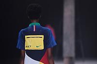 SAO PAULO, SP, 27.04.2019 - MODA-SP -Modelo durante desfile da marca Piet durante a edição 47 da São Paulo Fashion Week, no espaço Arca, na zona oeste de São Paulo, neste sábado, 27. (Foto: Ciça Neder / Brazil Photo Press / Folhapress)