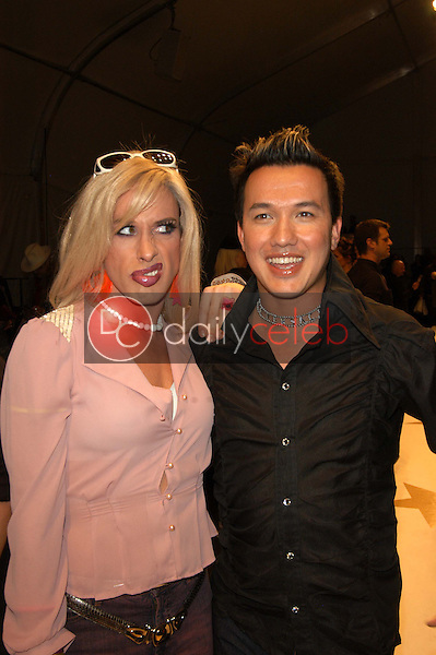 Alexis Arquette and Bobby Trendy