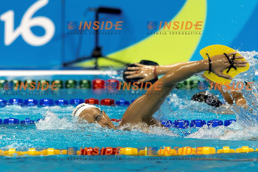 Federica PELLEGRINI ITA<br /> Traning<br /> Rio de Janeiro 06-08-2016 XXXI Olympic Games <br /> Olympic Aquatics Stadium <br /> Swimming 04/08/2016<br /> Photo Giorgio Scala/Deepbluemedia/Insidefoto