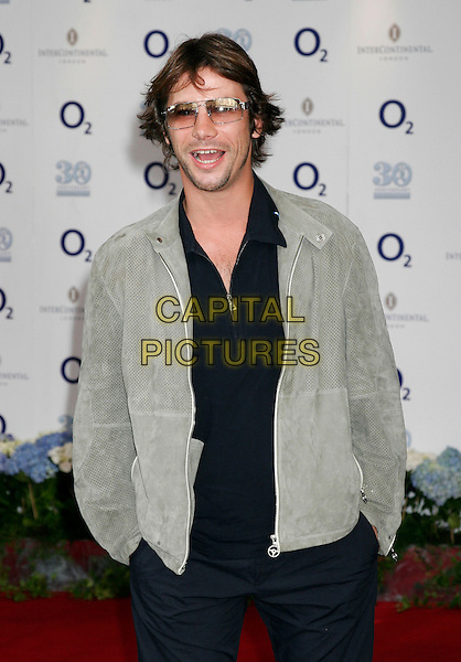 JAY KAY - JAMIROQUAI.Nordoff Robins Silver Clef Awards 2005,.Intercontinental Hotel, Park Lane, London,.17 June 2005..half length sunglasses scruffy.Ref: MW.www.capitalpictures.com.sales@capitalpictures.com.©Capital Pictures