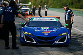 IMSA WeatherTech SportsCar Championship<br /> Michelin GT Challenge at VIR<br /> Virginia International Raceway, Alton, VA USA<br /> Saturday 26 August 2017<br /> 93, Acura, Acura NSX, GTD, Andy Lally, Katherine Legge<br /> World Copyright: Scott R LePage<br /> LAT Images