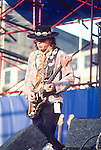 STEVIE RAY VAUGHN - Performing live at Pier 84, NYC 07/23/1983 Stevie Ray Vaughan